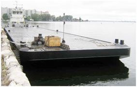 agency service tug-and-barge assemblies