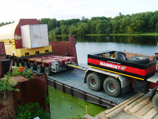 CARGO FOR KIRISHI HYDROELECTRIC POWER STATION